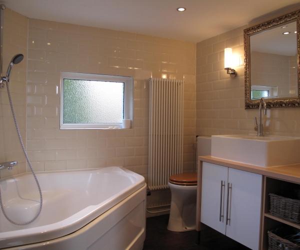 Wadlicht badkamer